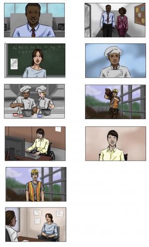 CDE PSA Storyboards