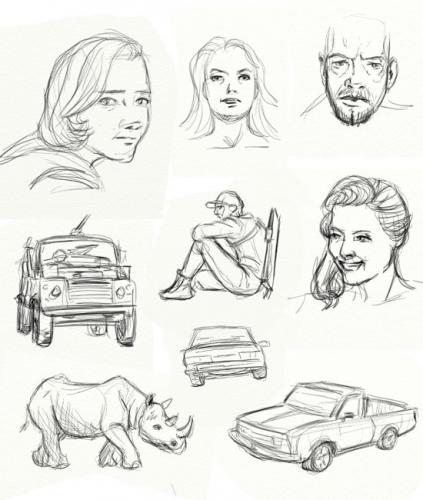sketch hammack 6